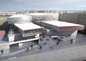 Complexe sportif / Issy-les-Moulineaux