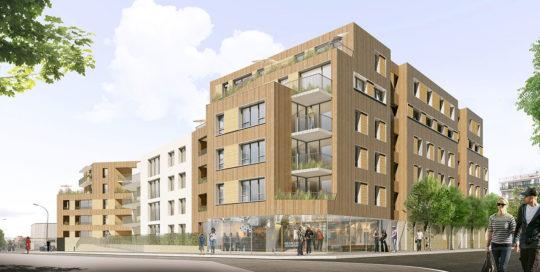MONTREUIL - 56 logements PASSIVHAUSS